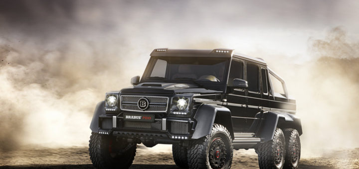 Brabus 700 6x6 is one of the most expensive cars sold in Malaysia